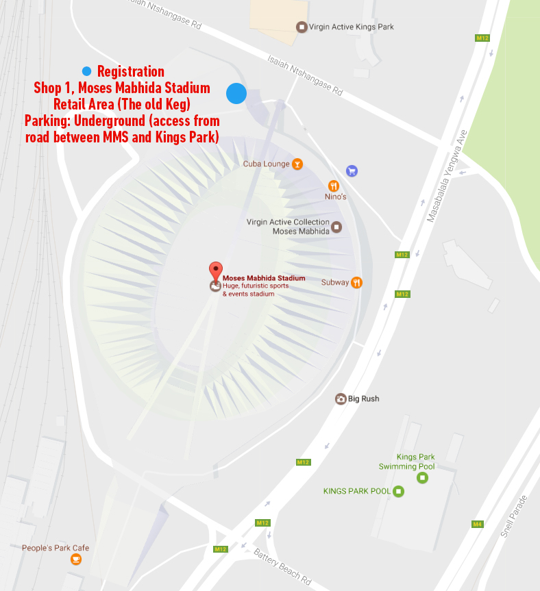 TOUR DURBAN: REGISTRATION
