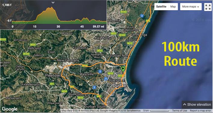 aQuelle-Tour-Durban-100km-Route