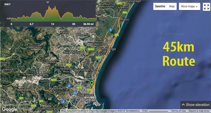 aQuelle-Tour-Durban-45km-Route